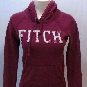 Abercrombie and Fitch Hoodie Women's Red